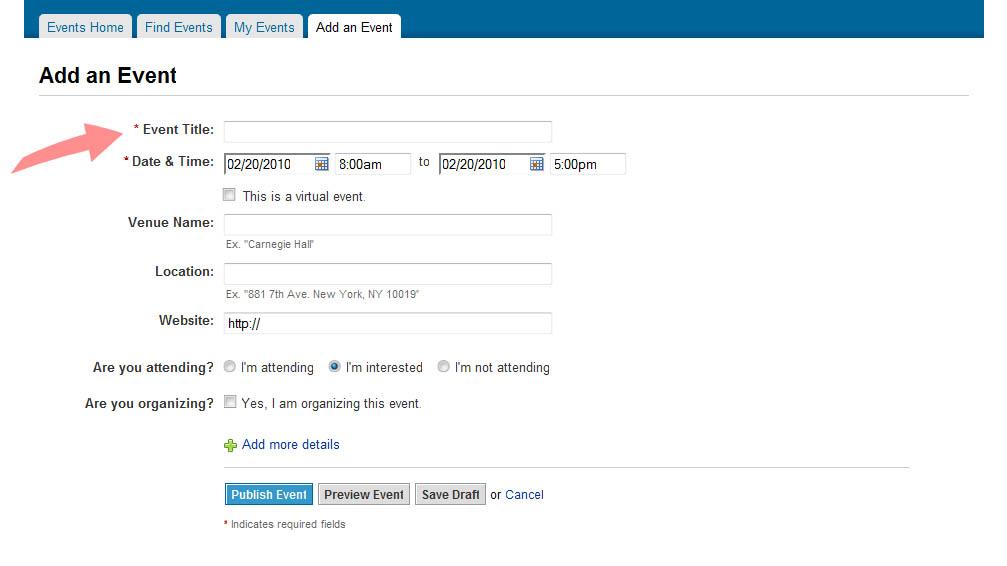 LinkedIn Event