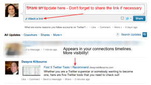 LinkedIn Post Updates 300x169 Increase Your Visibility On LinkedIn