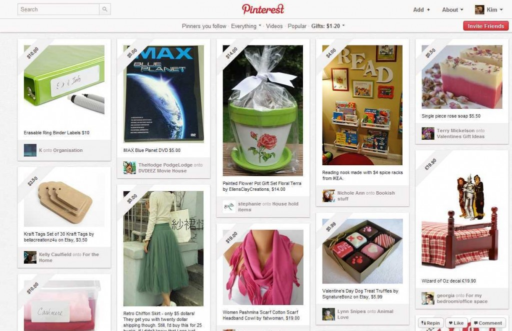 pinterest for sale 1024x663 Be a Pinterest Power User