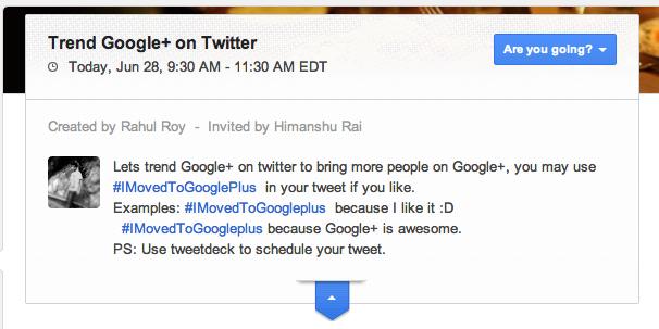 google+ turns one